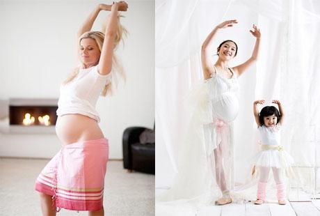 Khiêu vũ tốt cho các bà bầu