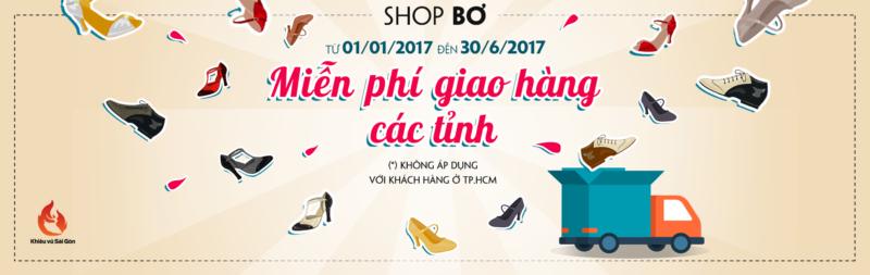 Miễn phí giao hàng giày khiêu vũ các tỉnh trên cả nước!
