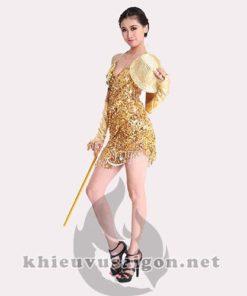 Đầm khiêu vũ V-12