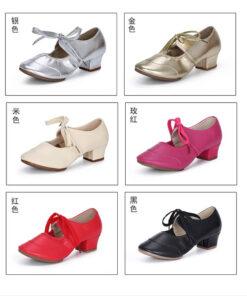 Giày tập khiêu vũ nữ TS195