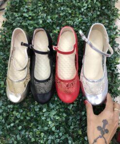 Giày tập khiêu vũ nữ TS025
