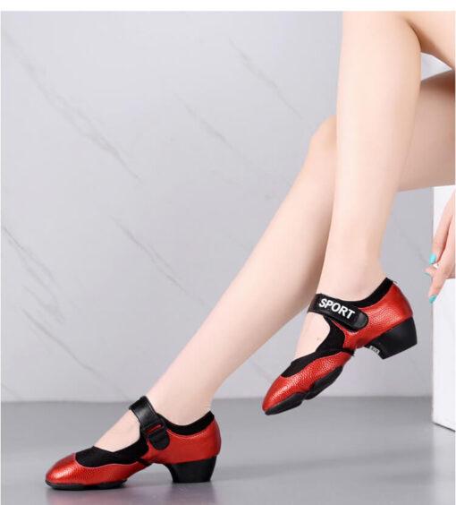 Giày tập khiêu vũ nữ TN024